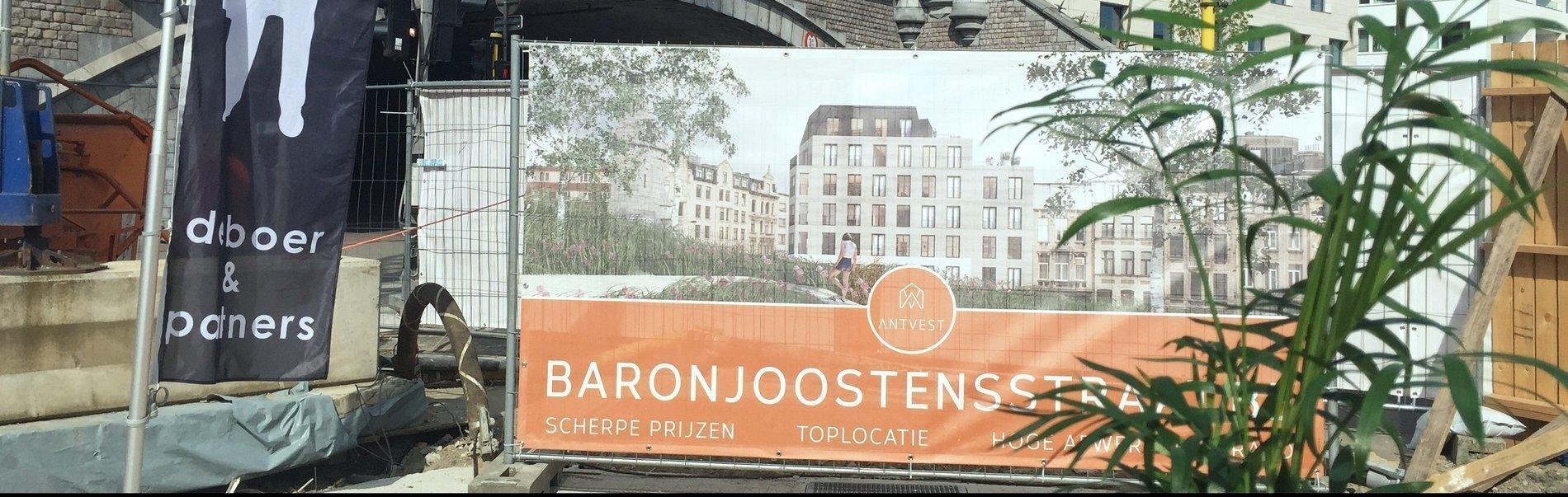 EERSTE STEENLEGGING BARON JOOSTENS